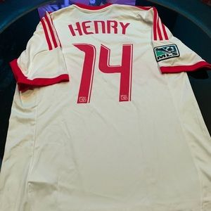 Thierry Henry NY Red Bull's jersey size medium